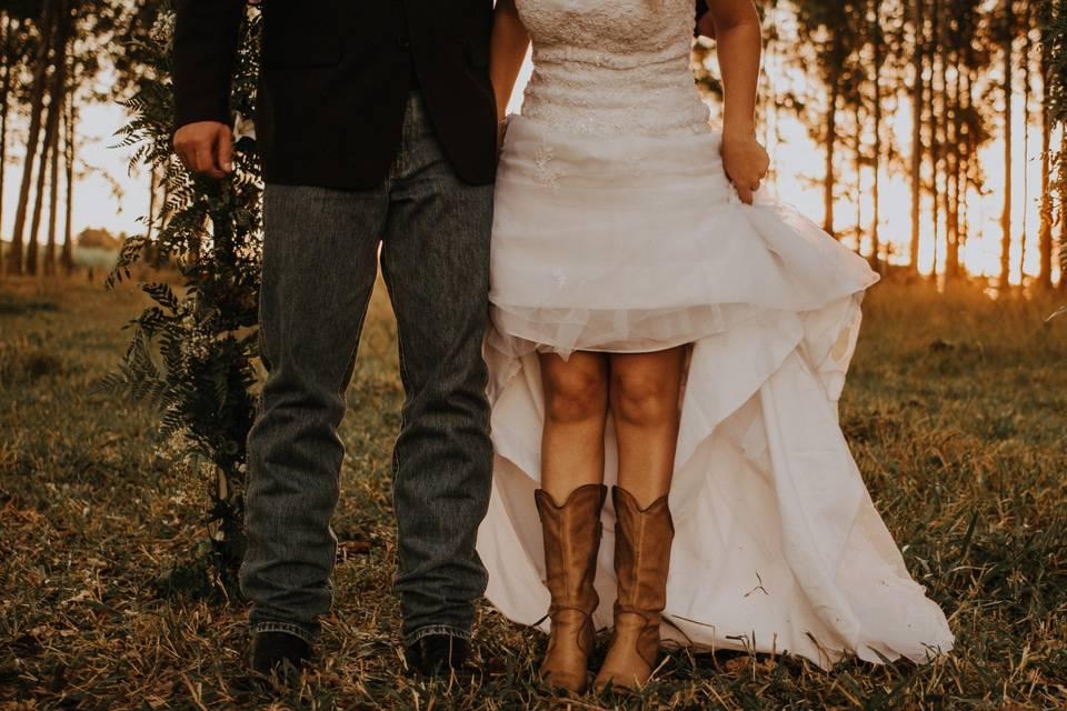 Tire o pó das botas e do chapéu: é hora de planejar o seu casamento country!