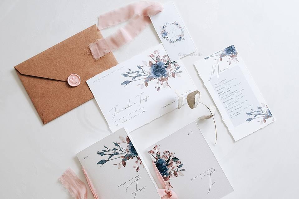 65 Convites florais em todos os estilos: uma estampa atemporal para eternizar o seu