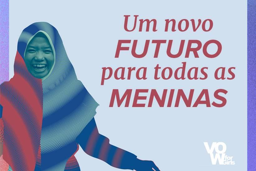 VOW e Casamentos.com.br unidos contra o casamento infantil