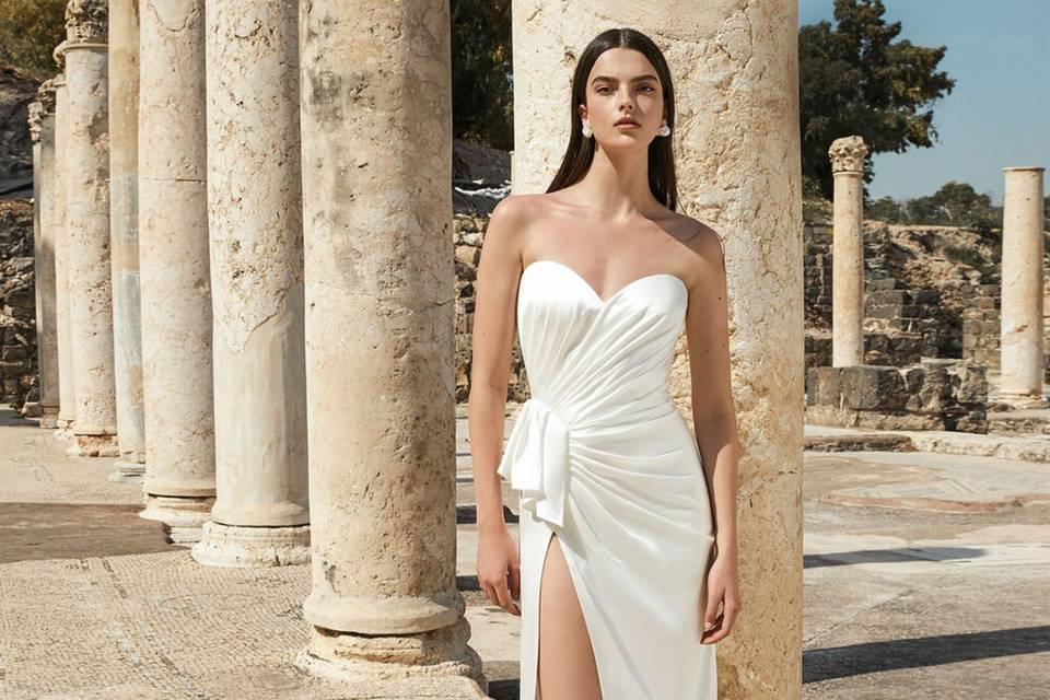 Vestidos de noiva Alon Livné White: um convite à Grécia Antiga na coleção Terra