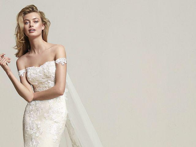 Vestidos de noiva com ombros à mostra: sensualidade sofisticada