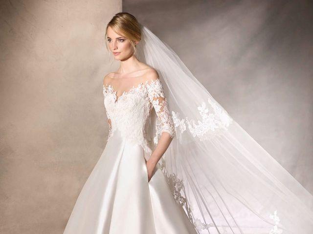Vestidos de noiva com bolso: charme e história em 35 modelos