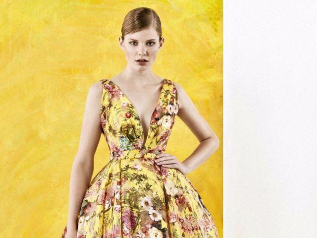 60 Vestidos com estampas florais para convidadas