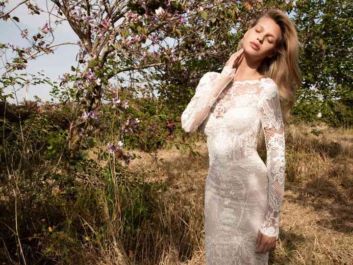 50 vestidos de noiva com renda