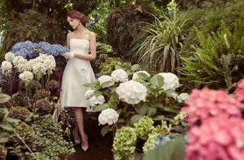 30 encantadores vestidos de noiva curtos