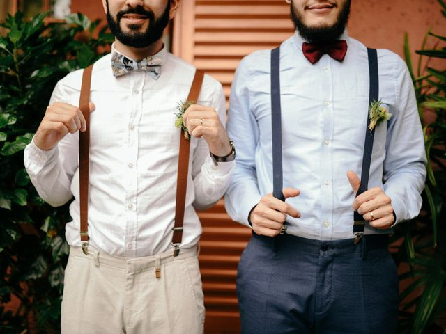 O casamento alegre e emocionante de Cadu e Eduardo