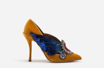 Sapatos de Dolce & Gabbana 2019: ousadia nos pés das convidadas
