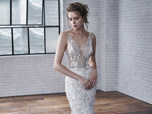 Vestidos de noiva Badgley Mischka: coleção 2019
