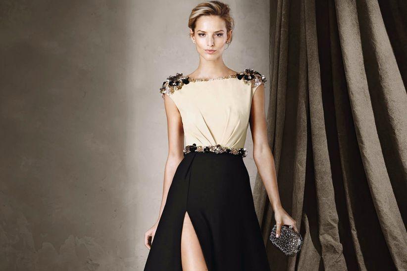91045ee23 40 Vestidos de convidada com fenda: sensualidade discreta