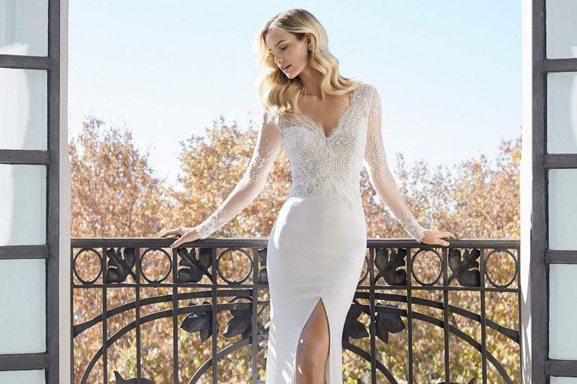 14c17afd41 50 Vestidos de noiva com fenda  inspire-se e saiba usá-la a seu favor