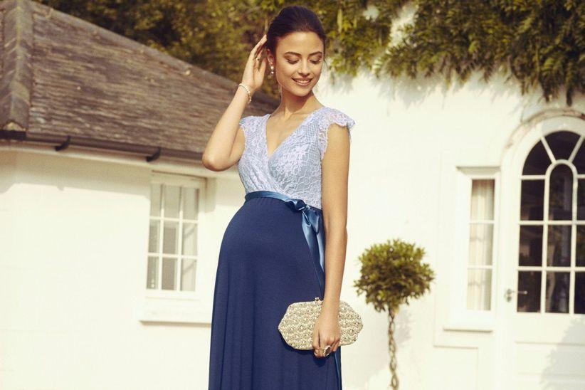 cc6151e6e 35 Vestidos de festa para convidadas grávidas se inspirarem