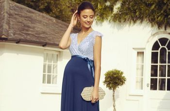 35 Vestidos de festa para convidadas grávidas se inspirarem