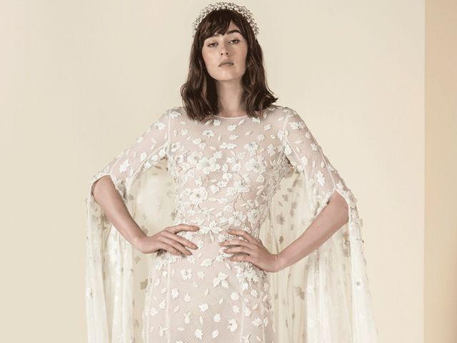 Vestidos de noiva Saiid Kobeisy: uma excêntrica coleção 2019