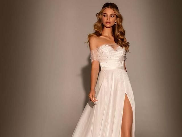 101 Vestidos de noiva com fenda que darão impacto à sua caminhada até o altar