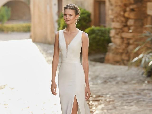 101 Vestidos de noiva simples: a chave para um look minimalista