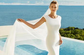 Vestidos de noiva simples para seu casamento minimalista