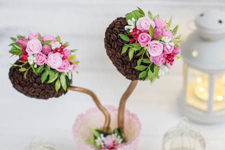 Topiaria: DIY para os arranjos de flores do seu casamento