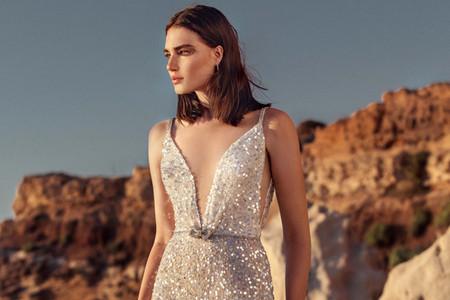 Noivas cintilantes: 75 vestidos que se destacam com brilho