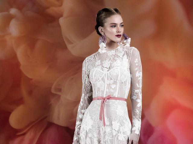 Vestidos de noiva Naeem Khan: propostas não convencionais para 2020
