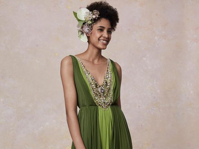 Convidadas de verde: 30 modelos incríveis para te inspirar