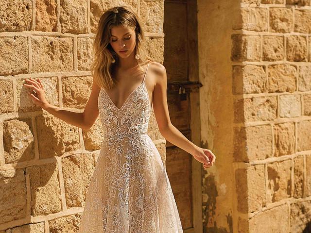 Vestidos de noiva com transparência e efeito tattoo lace: 85 modelos para te inspirar