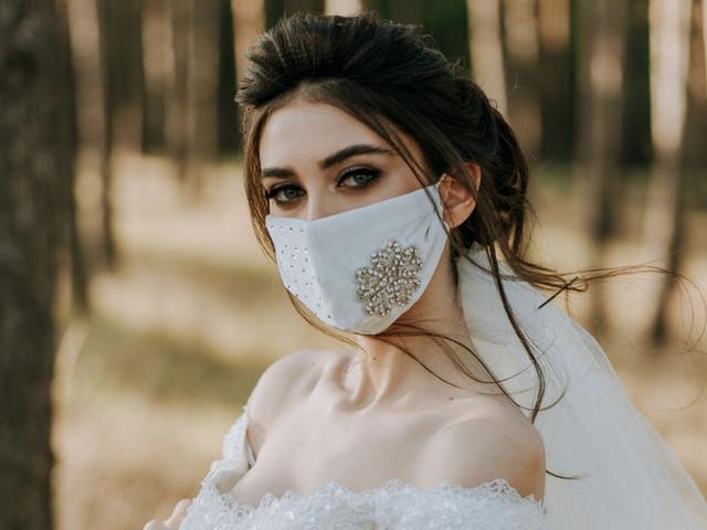 Maquiagem para a noiva de máscara: o segredo está no olhar