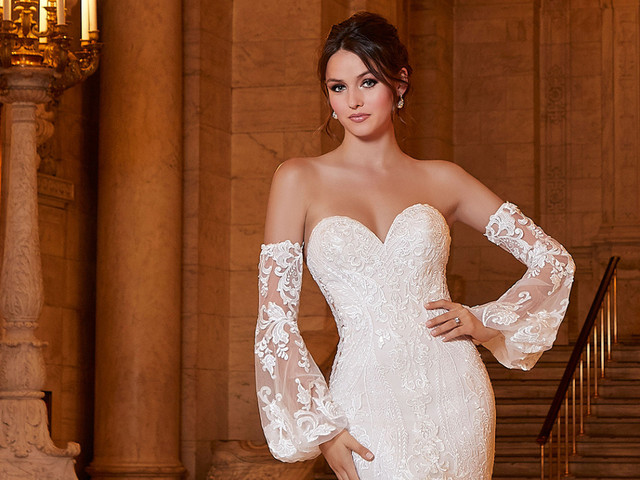 Vestidos Morilee 2021: para que as noivas vivam um sonho