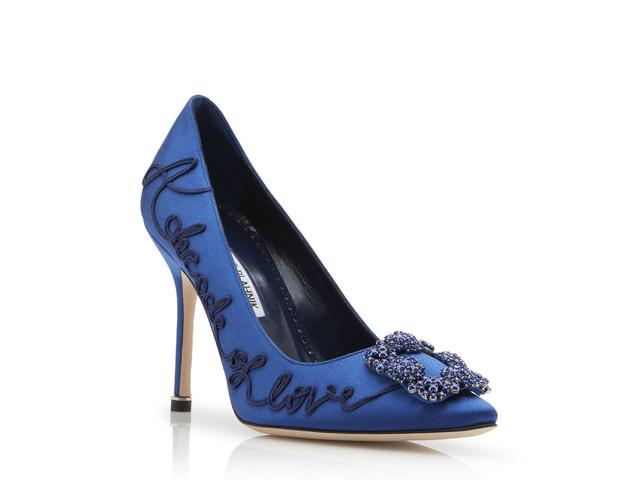 Sapatos Manolo Blahnik para noivas: sinta-se Carrie Bradshaw por um dia!