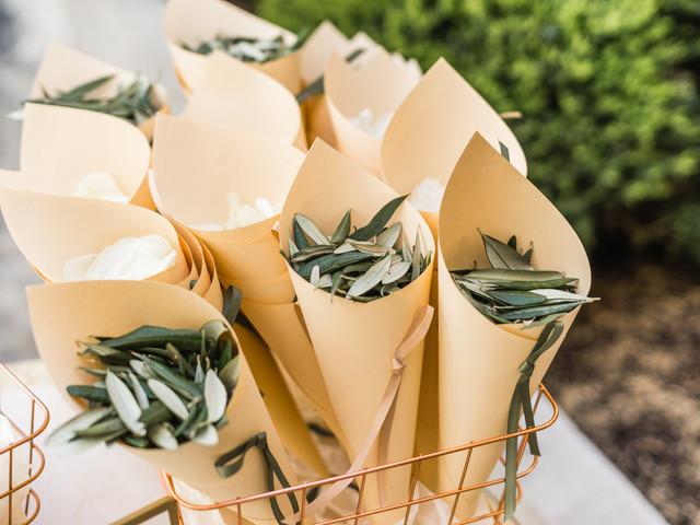 Cones de papel no dia C: originalidade nesse detalhe simples e tradicional