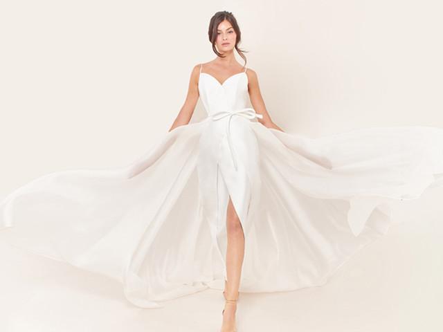 Vestidos Tosca Spose 2021: design e dramaticidade na coleção Opera