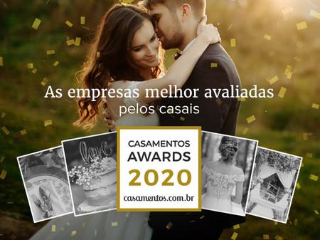 Casamentos Awards 2020: conheçam os vencedores da 5ª edição