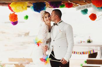 Querem saber quais são as cores ideais para o seu casamento?