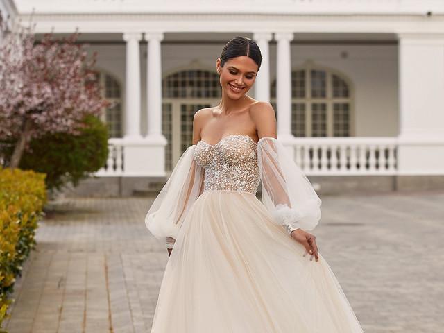 Mangas bufantes: a mais recente paixão das noivas em 85 modelos
