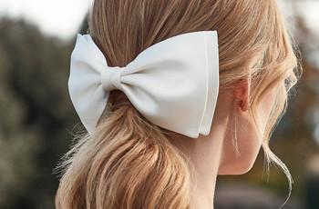 Penteados para a noiva: rabos de cavalo com estilo
