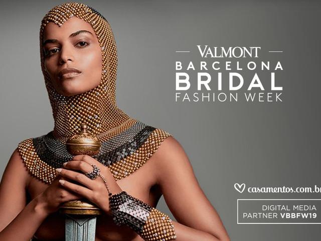 Valmont Barcelona Bridal Fashion Week apresenta as coleções de 2020