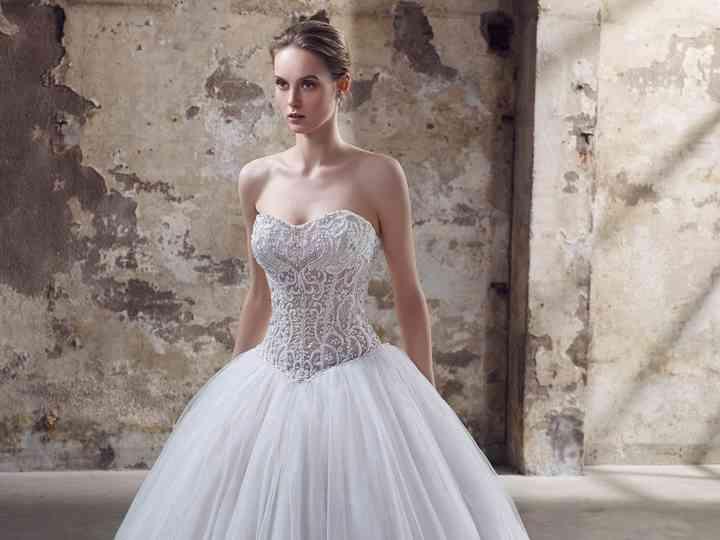 Vestidos de noiva com pedraria: 50 modelos que te farão luzir