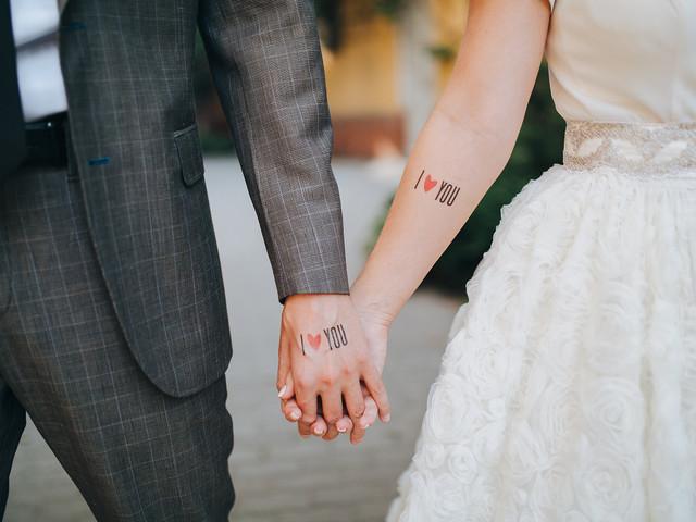 Tatuagens temporárias para casamento: conhecem essa novidade?