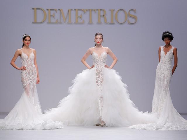 Vestidos Demetrios 2020: para além da princesa, uma noiva rainha