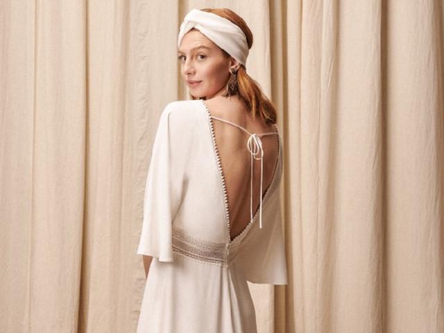 Vestidos eco-friendly para a noiva boho: coleção Alter Eco Sustainable de Rembo Styling