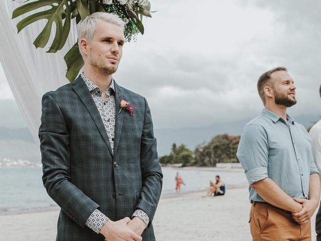 A camisa do noivo: como estar impecável com modelos coloridos ou estampados