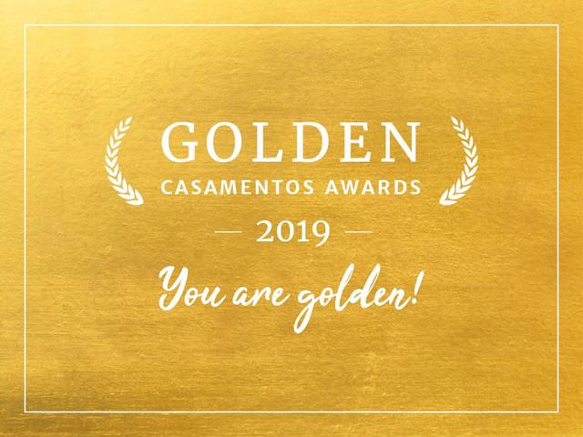 Golden Casamentos Awards: apresentamos os vencedores da segunda edição do prêmio