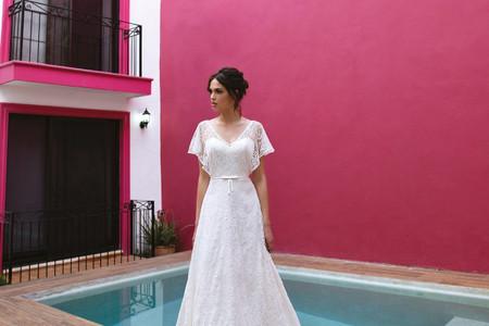Vestidos de noiva Boheme from Mikonos: leveza em cenários que transbordam cor