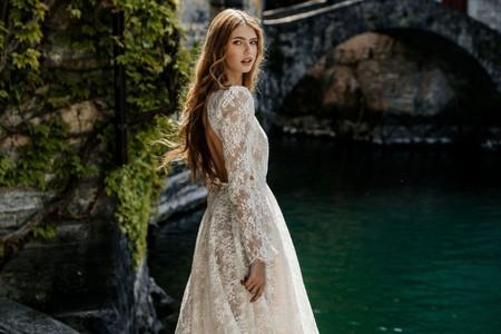 105 Vestidos de manga longa para aquecer as noivas do inverno com estilo