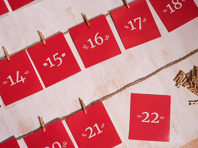 Calendário romântico: DIY para um Natal a dois mais apaixonado