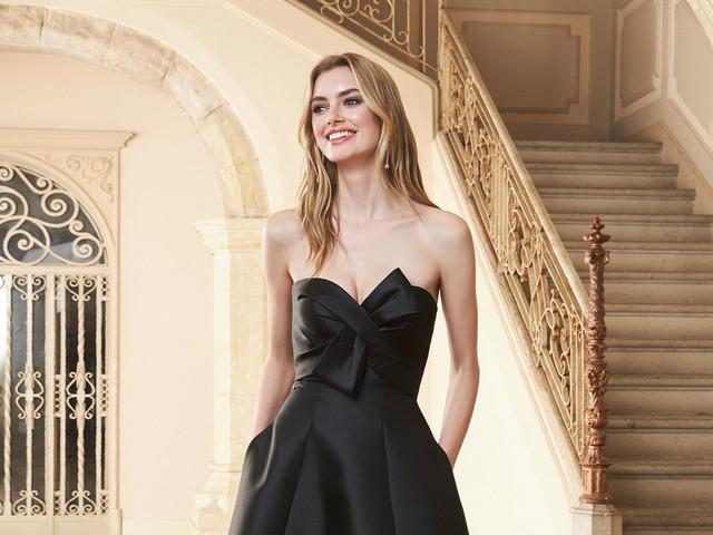 Convidadas in black: 60 looks para quem não dispensa o preto