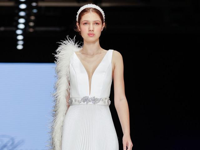 Vestidos de noiva Blumarine: a força dos detalhes na coleção 2020