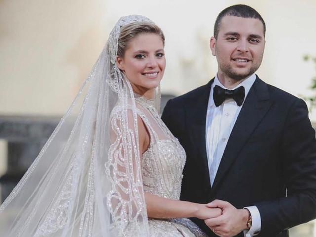 """Elie Saab Jr. e Christina Mourad dizem """"sim"""" em evento de luxo de 3 dias"""