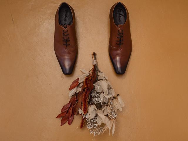 Sapato marrom para o noivo: considere essa cor
