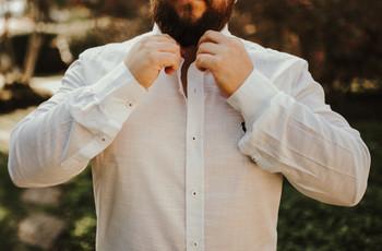 Como evitar manchas de suor na camisa do noivo