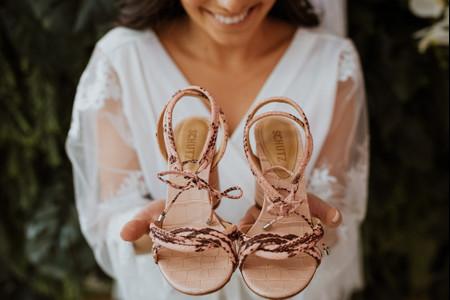 Sandálias para a noiva: 100 modelos ideais para os pés da protagonista